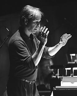 Charles Barker conducting