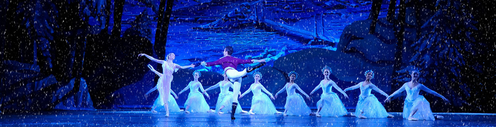 Snow Scene - Pittsburgh Ballet Theatre's The Nutcracker