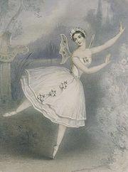 Carlotta Grisi, wearing a romantic tutu, as Giselle, 1841. Source: Wikipedia