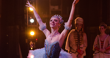 Amanda Cochrane as Bluebird, The Sleeping Beauty