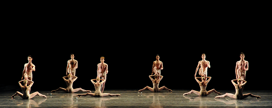 PBT in Jiří Kylián's Petite Mort. Photo by Rich Sofranko