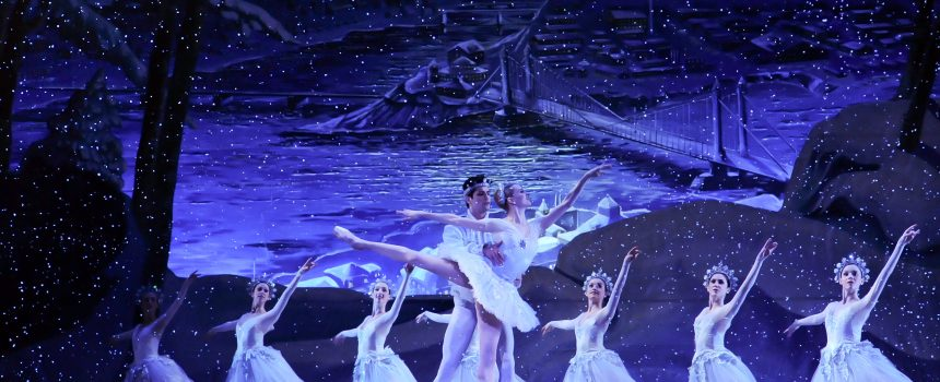 The Nutcracker's Snow Scene
