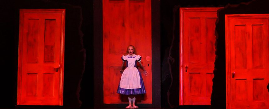 Alice in Wonderland: Corridor of Doors