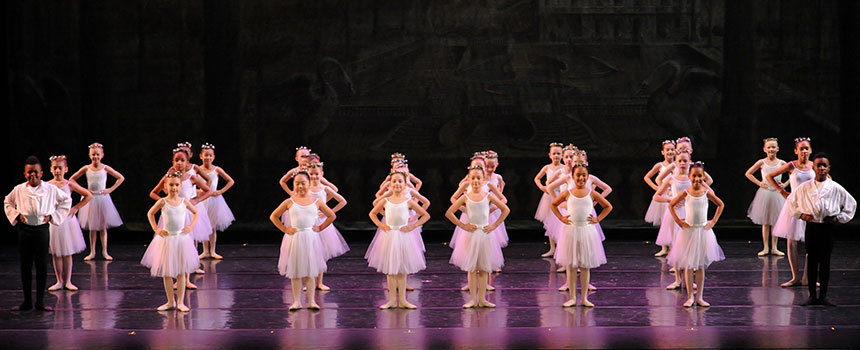 Adon-Quinerly performing in Pittsburgh Ballet Theatre School's Spring Performance at the Byham Theater.