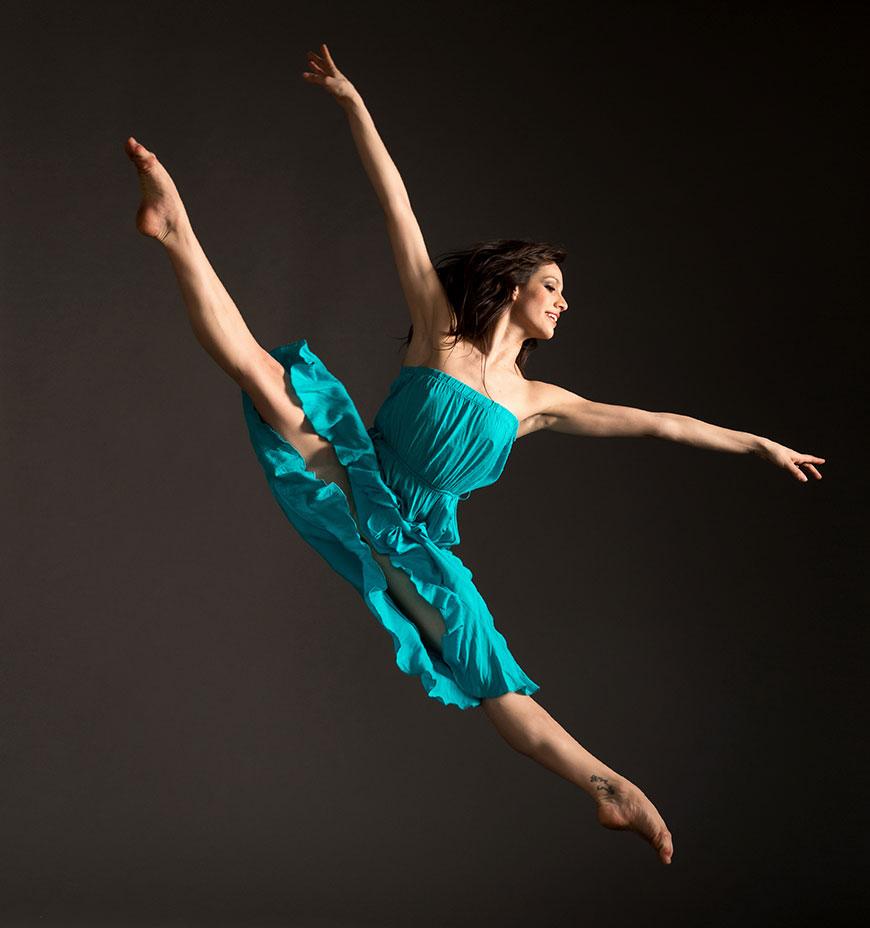 Pittsburgh Ballet Theatre dancer Daniela Moya