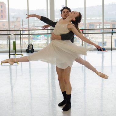 Alexandra Kochis & Luca Sbrizzi | Photo by Aimee DiAndrea