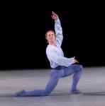 Corps de ballet dancer Joseph Parr