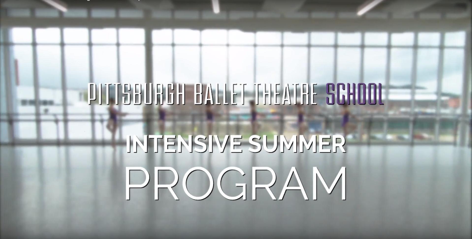 Intensive Summer Program at Pittsburgh Ballet Theatre