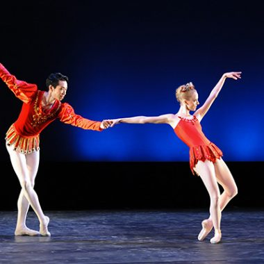 Balanchine choreography © The George Balanchine Trust